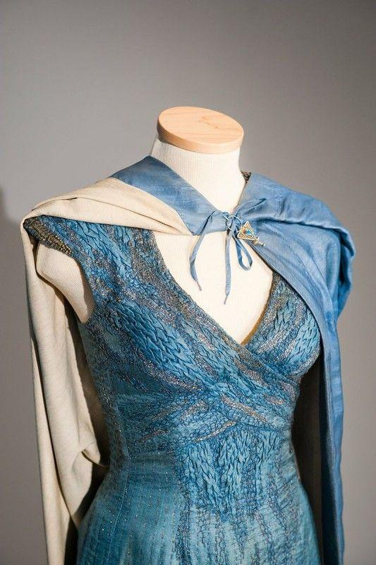 Robe bleue de Daenerys