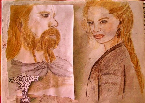 Couple de Vikings