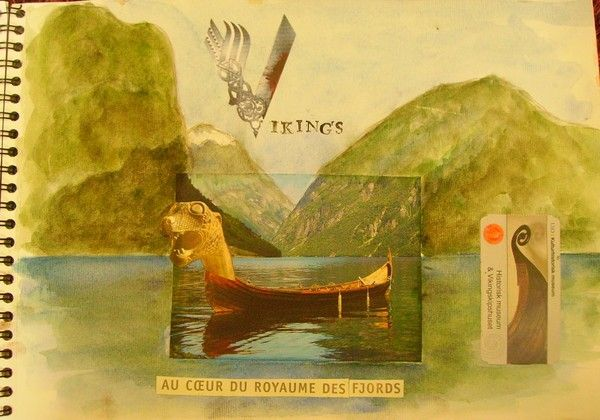 Carnet de lieux mythiques: au coeur des fjords